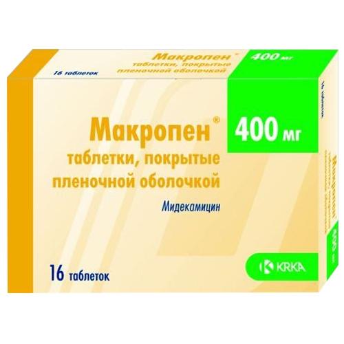 Макропен лечение хламидиоза